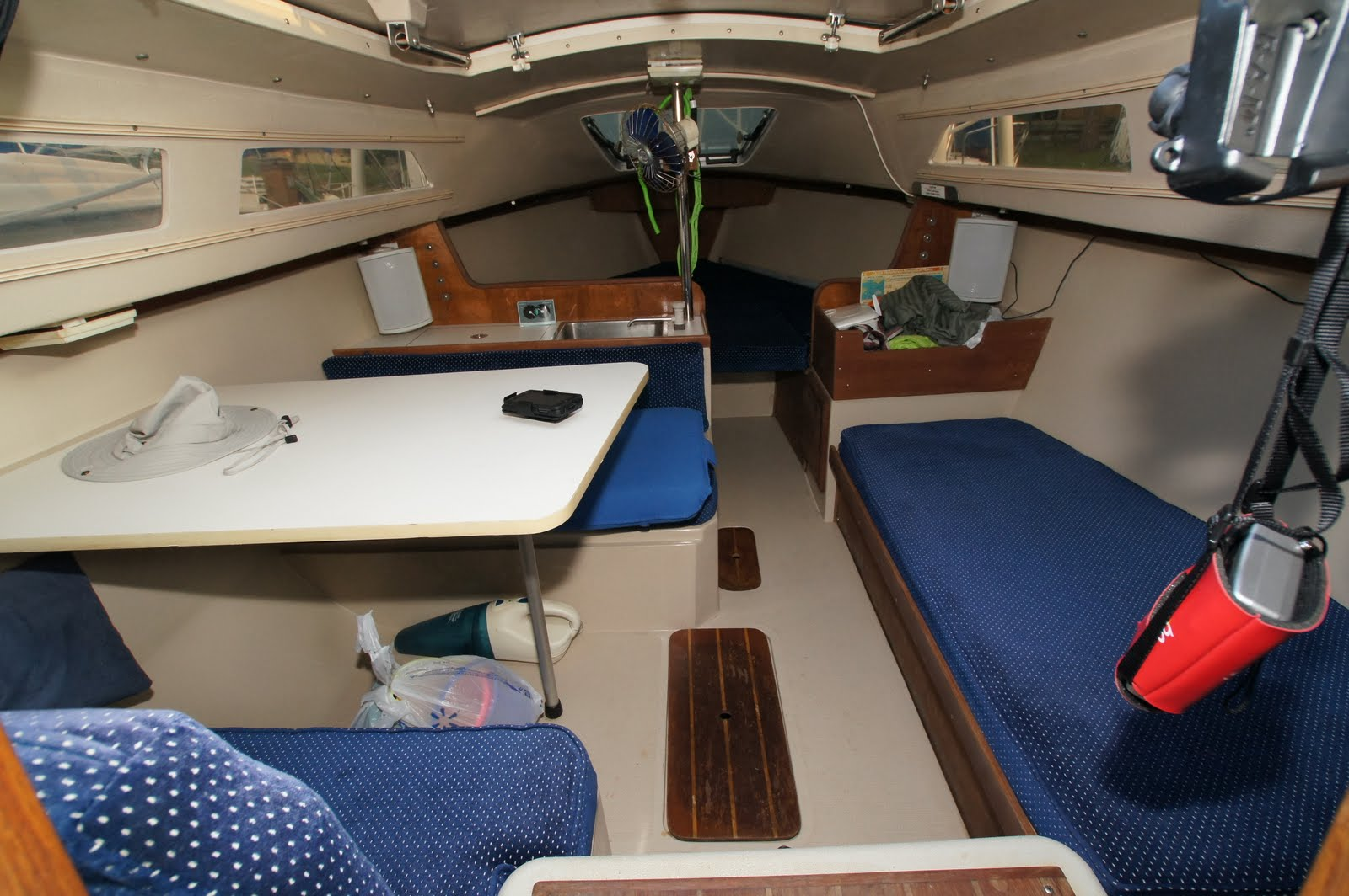 SOLD: 1998 Catalina 22 wing keel | Oconee Sailing and Yacht Club